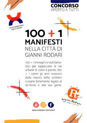 100 + 1 manifesti nella città di Gianni Rodari
